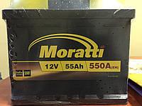 Аккумулятор Moratti 55 Ah 550 A