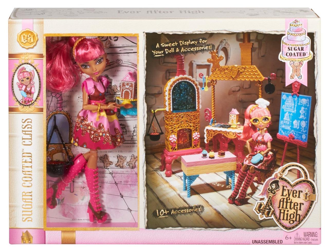 Набор Ever After High Mattel Кухня Джинджер Бредхаус   Sugar Coated Ginger Breadhouse