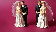 Свадебная фигура маленькая  104086 Аи В (код 02278