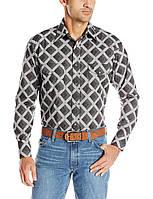 Рубашка Wrangler George Strait, M, Blackberry/Grey, MGSX198, фото 1