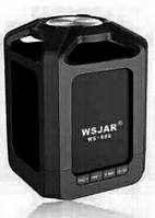 Портативная bluetooth колонка MP3 WSA-608 Black, фото 1