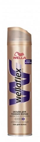 """Лак """"Wellaflex"""" Мгновенный объем (4)"""