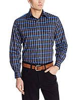Рубашка Wrangler Trevor Brazile, Grey/Navy, фото 1