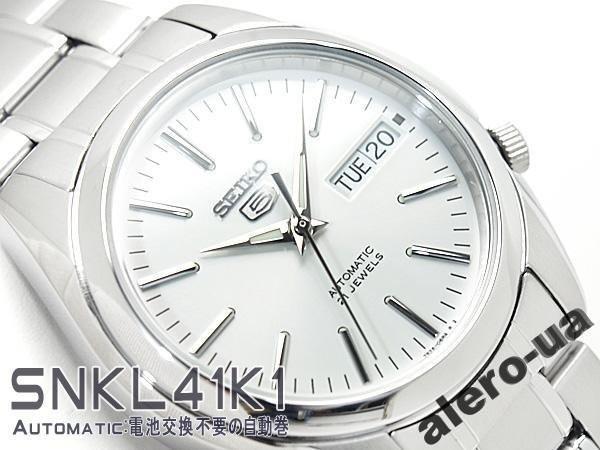 on sale d6981 69634 SEIKO 5 «SNKL41K1» Automatic: продажа, цена в Киевской области. часы  наручные и карманные от ...