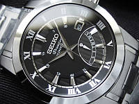 = SEIKO Premier Kinetic Retrograde Day = SRN039P1