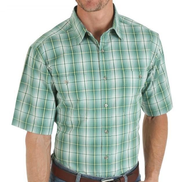 Рубашка Wrangler, L, Olive, RWS82OL