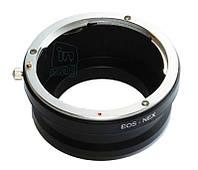 Адаптер переходник Canon EOS - Sony NEX E.