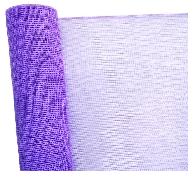 Сетка флористическая Normal mesh 53смх6м сиреневая