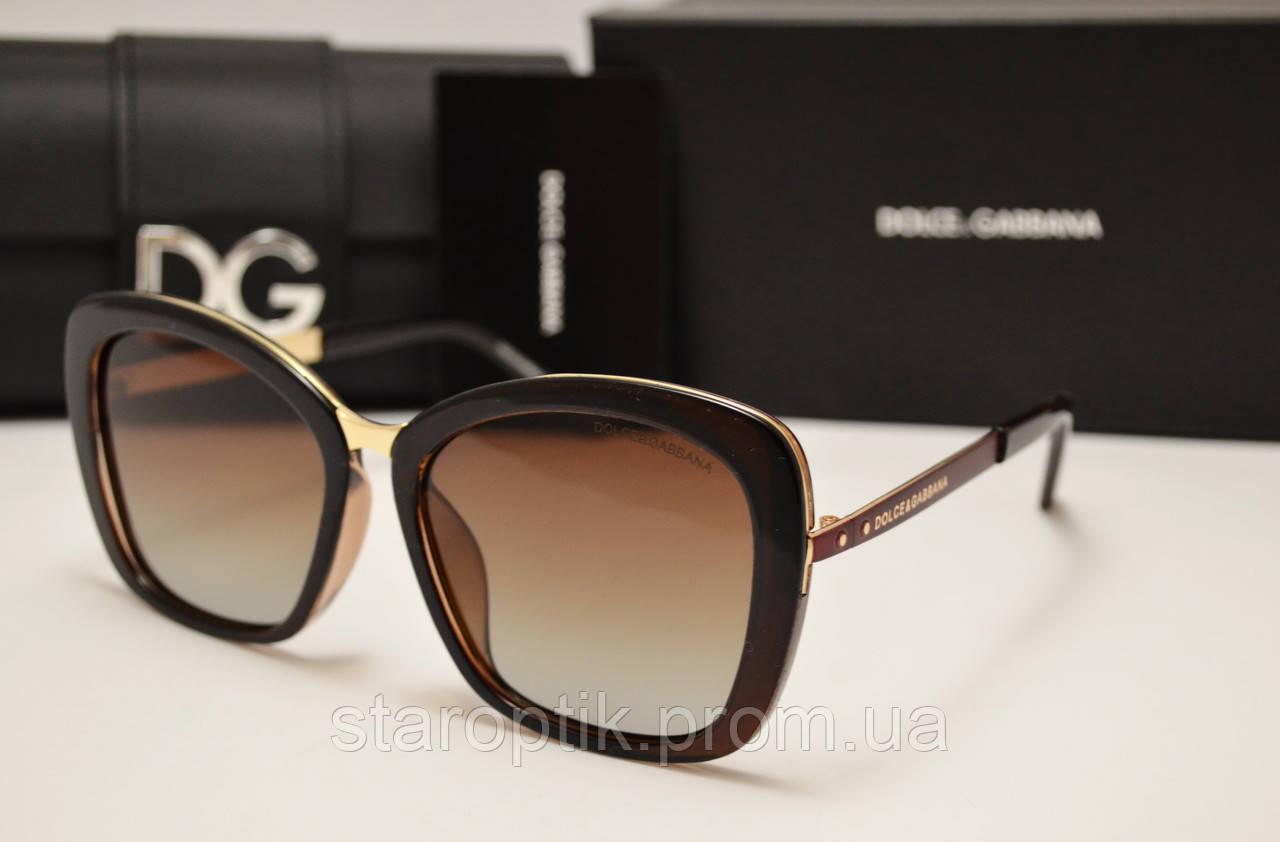 a7e84e579667 Солнцезащитные очки Dolce   Gabbana DG 15174 коричневый цвет - Star Optik в  Одессе