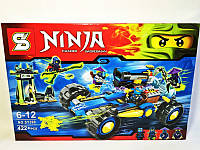 """Конструктор BELA """"Ninjago"""" 422  деталей SY390"""