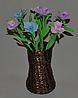 Букет Традисканция из фоамирана. Оригинальный подарок