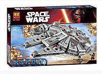 Конструктор Bela 10467 Сокол Тысячелетия, (аналог LEGO Star Wars 75105), 1355 дет , фото 1