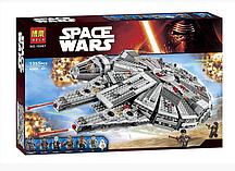 Конструктор Bela 10467 Сокол Тысячелетия, (аналог LEGO Star Wars 75105), 1355 дет