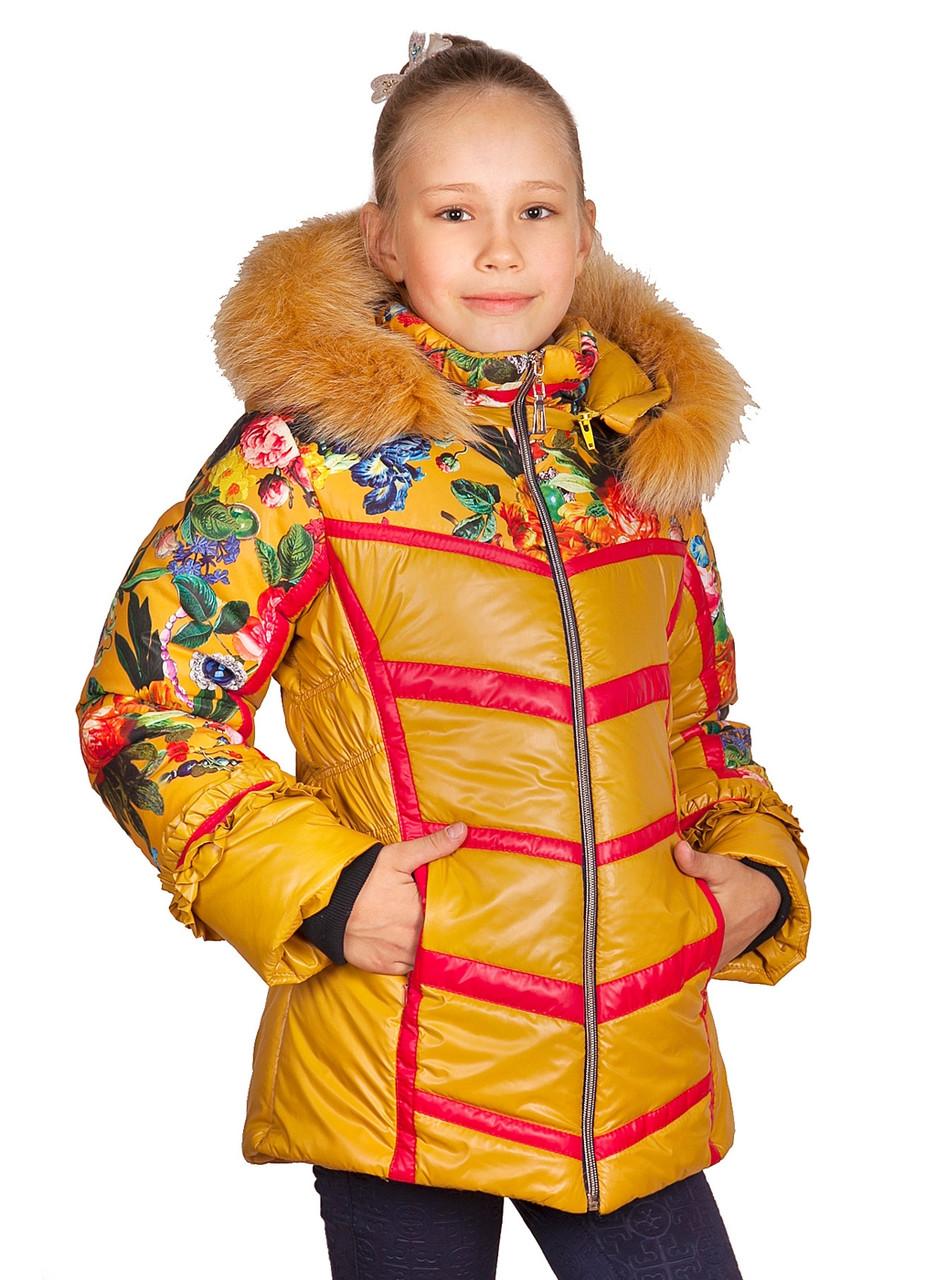 Зимняя куртка для девочек «Камелия»