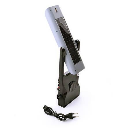 Фонарь лампа Yajia 5862UT, 30SMD, солн. батарея, USB, фото 2