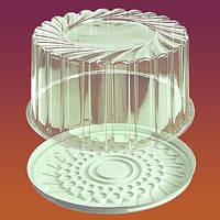 Упаковка для круглого торта примерно на 1кг  1432 п/б