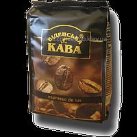 Кофе в зернах Віденська кава Espresso De Lux, 500 г
