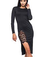 Платье с разрезом на ноге | 1069 br