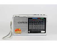 Радиоприемник всеволновой GOLON RX 6633/6622, радиоприемник с mp3 плеером и usb