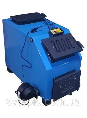 Твердотопливный котел длительного горения Огонек 28 кВт ДГ