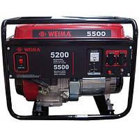 Генератор с автоматическим запуском бензиновый WEIMA WM5500 ATS (5,5 кВт,автоматика, 1 фаза)