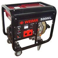 Генератор дизельный WEIMA WM5000CLE (5 кВт) 1фаза, электростартер
