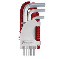 Набір ключів імбусових HEX Small Intertool HT-1801 |набір ключів шестигранний HEX Intertool HT-1801