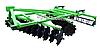 Дисковая борона с катком шевронным 2,40 м