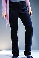 Штаны женские велюровые синие