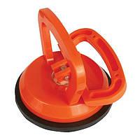 Тримач-присоска для стекол  HT-7101 Intertool // Держатель-присоска для стекол одинарная 120мм, max 40кг