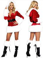 Шикарный новогодний костюм Снегурочки VIP