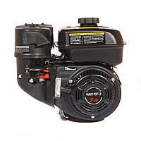 Двигатель WEIMA WM170F NEW для WM1050,ФАВОРИТ (бензин 7 л.с., редуктор шестеренчатый, шпонка, )