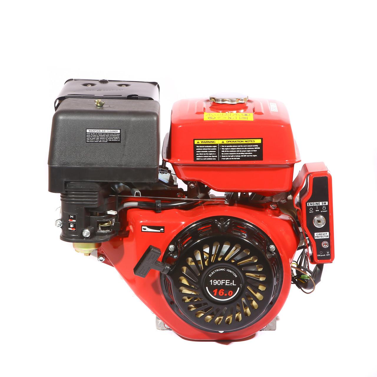 Двигатель WEIMA WM190FЕ-L (HONDA GX420) (редуктор 1/2, шпонка, бензин 16л.с., электростартер) - Интернет-магазин «Моё дело» в Харькове