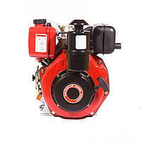 Двигатель дизельный WEIMA WM178FS 6,0 л.с. (шпонка, 1800об/мин) + редуктор