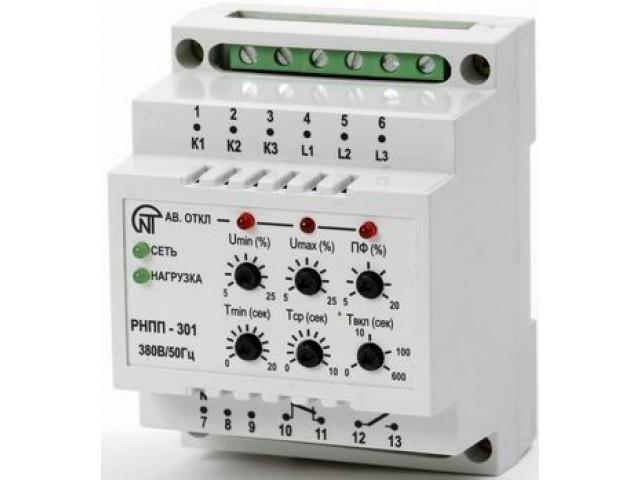 Таймеры, реле контроля тока, напряжения, асимметрии, обрыва фаз