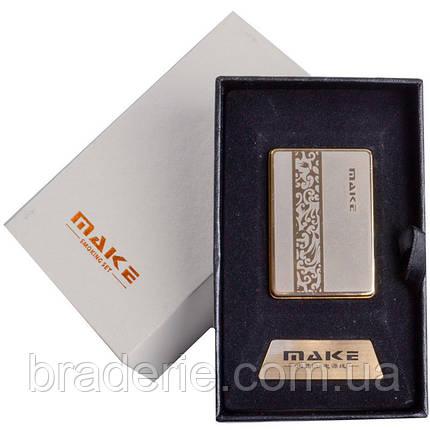 Зажигалка USB Make 4692-5, фото 2