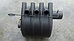 """Дровяная печь """"Canada"""" с жаростойким стеклом+перфорация """"01"""" мощность 11 кВт, фото 2"""