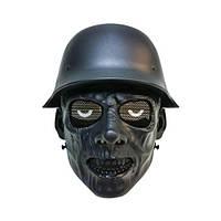 """Тактическая маска для игры в страйкбол """"Зомби"""" - черный"""