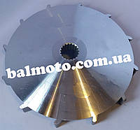 Крыльчатка вариатора аллюминиевая 4т 125сс
