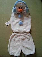 Снеговик карнавальный костюм