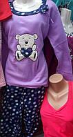 Пижама флисовая с длинным рукавом 44р ,доставка по Украине