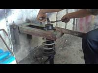 Изготовление стяжки колибр.