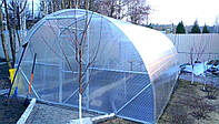 Теплица из поликарбоната 4х6х2.3 м. (поликарбонат 4 мм. в комплекте).