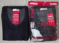 Термокостюм (кофта + штаны).Большие размеры. Батал термо белье мужское Amigo