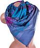 Превосходный женский двусторонний палантин из пашмины 188 на 71 см ETERNO ES0406-8-45 синий