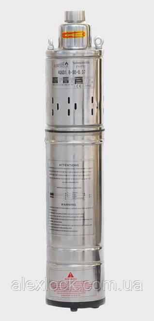 Глубинный шнековый насос для скважин Euroaqua 4QGD 1,8-50-0,37