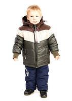 Комбинезон раздельный зимний для мальчика.