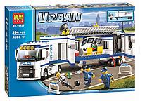 Конструктор Bela City Выездной Отряд Полиции 10420 (Аналог Lego City 60044) 394 дет