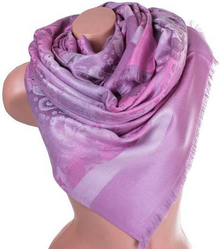 Благородный женский двусторонний палантин из пашмины 190 на 70 см ETERNO ES0406-8-48 розовый
