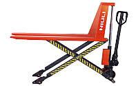 Рокла до 1000 кг. Гидравлическая тележка ножничного типа Scissor Lift SLTN10